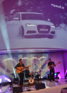 The Funky Buskers LIVE at myaudi.ie