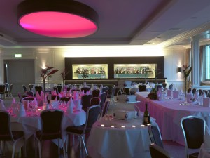 The Park Restaurant - Mood Lighting - Hotel Dunloe Castle